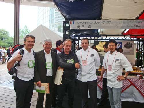 .....ne se refuse pas!!! surtout en compagnie des top pâtissiers du monde, merci Franck !!