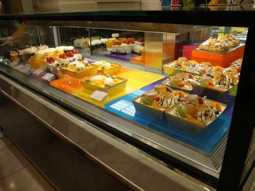 Visite d'un rayon pâtisserie française à ISETAN TOKYO