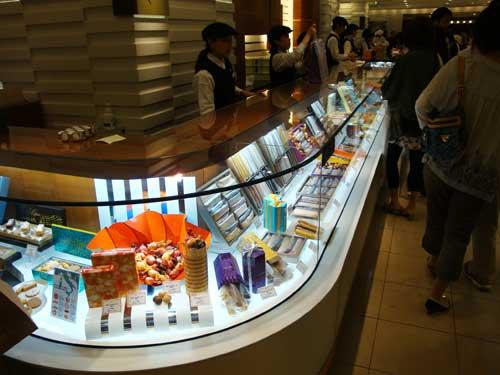 Visite d'un centre commercial très prisé de Tokyo