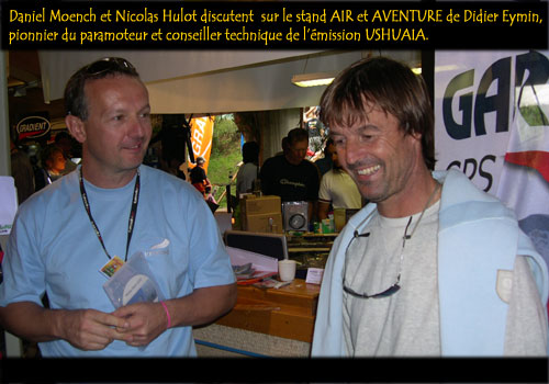Nicolas Hulot et Daniel Moench